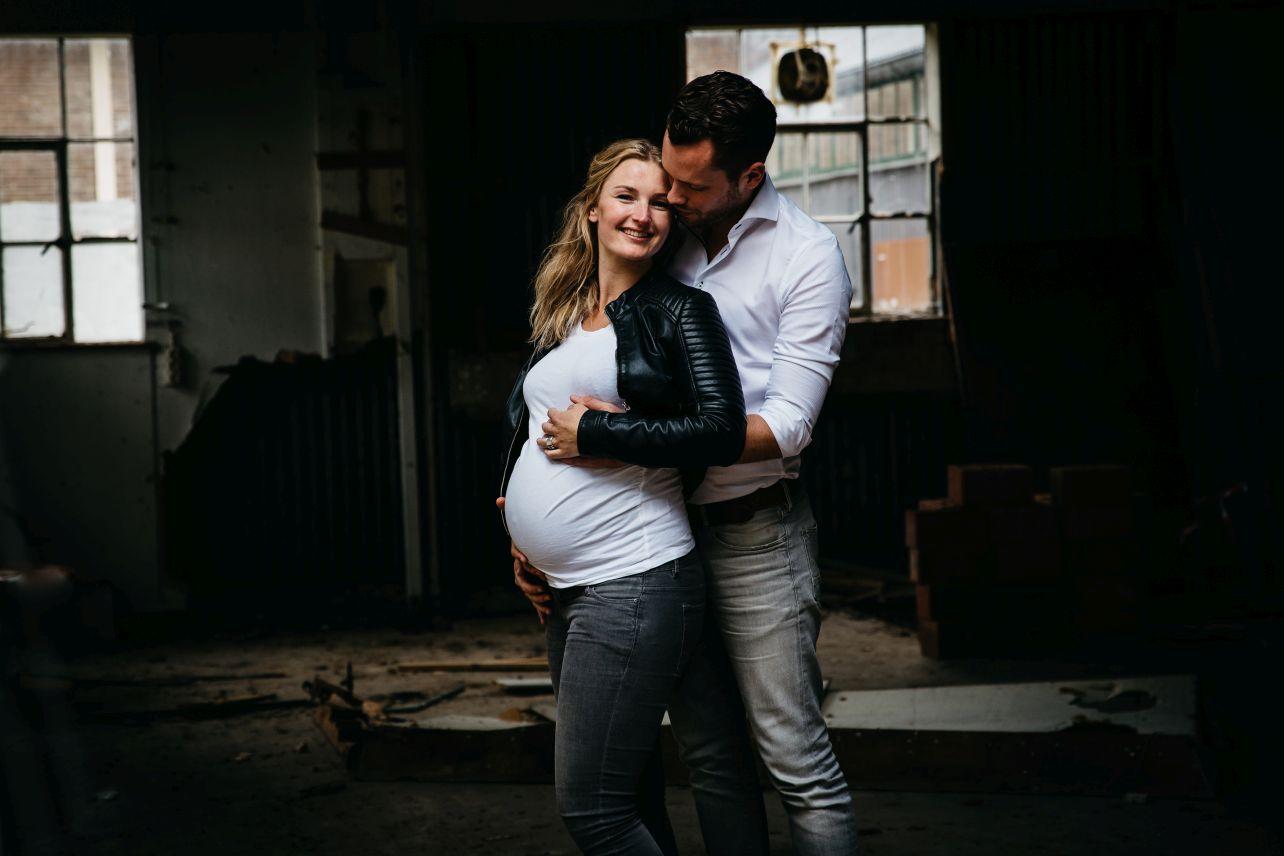 Maternity fotoreportage zwangerschap Radio Kootwijk 006