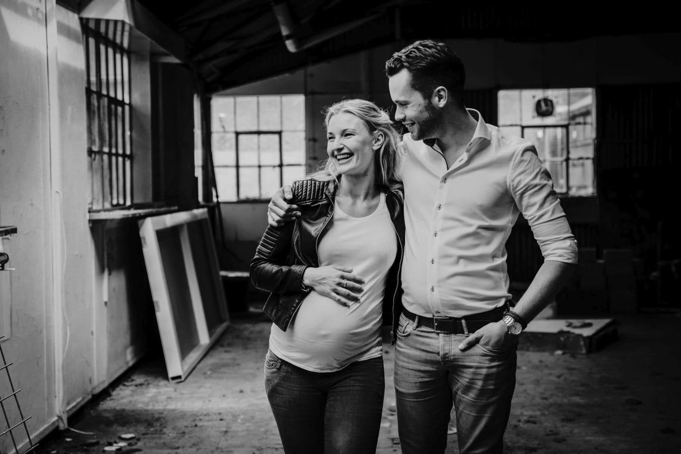 Maternity fotoreportage zwangerschap Radio Kootwijk 007