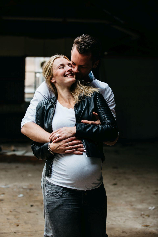 Maternity fotoreportage zwangerschap Radio Kootwijk 012