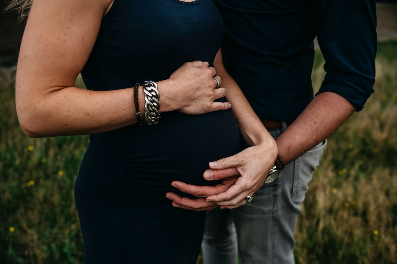 Maternity fotoreportage zwangerschap Radio Kootwijk 013