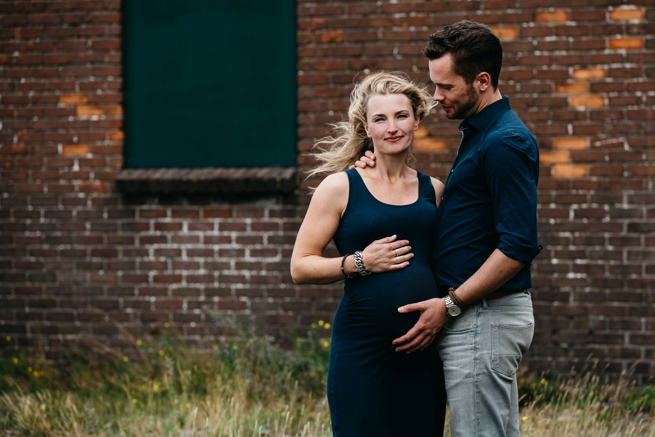 Maternity fotoreportage zwangerschap Radio Kootwijk 015